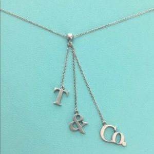 Tiffany & Co. dangle necklace